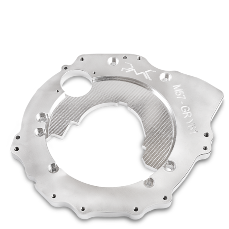 PMC Motorsport Gearbox Adapter Plate  BMW M57 - Nissan Patrol Y61ZD30