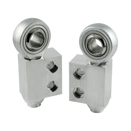 "Adjustable Control Arm- / Trailing Arm Bush Bracket ""lollipops"" BMW E30 E36 Uniball"
