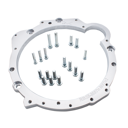 "PMC Motorsport Adapter Kit Nissan RB RB20 RB25 RB26 RB30 - BMW M57N M57N2 GS6-53DZ HGD JGA / 7.25"" 184mm POT"