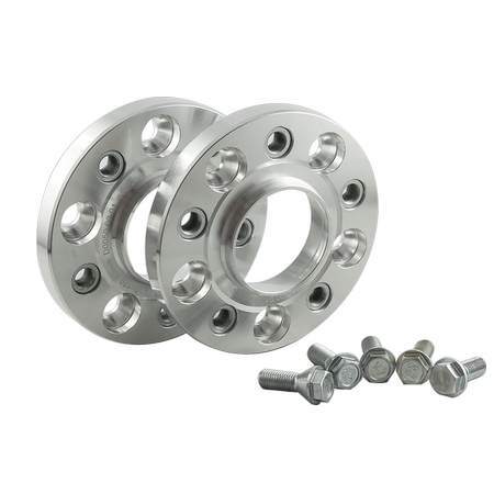 PMC Motorsport aluminum Bolted Wheel Spacers Set for BMW / 5x120 / 72,5 / 40MM