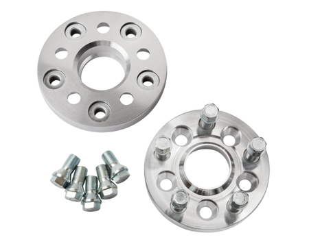 PMC Motorsport aluminum Bolted Wheel Spacers Set for VAG adapter 5x100 to 5x112 / 57,1 to 66,5 / 25MM