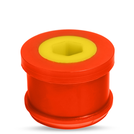 PMC Motorsport front lower wishbone bushes centric BMW E46 Polyurethane 80ShA (60mm)