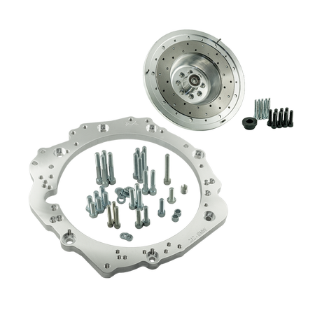 PMC Motorsport Getriebeadapter Kit Toyota JZ 1JZ 2JZ - BMW M57N M57N2 ZF GS6-53DZ HGD JGA E60 530D / 228mm (twin disc)