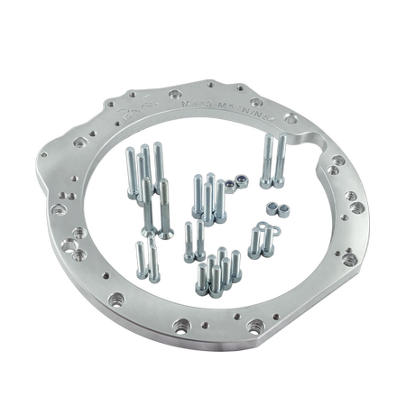 PMC Motorsport STAGE 1 Adapter Kit Mercedes-Benz M113 M113K AMG - BMW M57N2 ZF GS6-53DZ HGD JGA E60 530D / 240mm / Single Disc