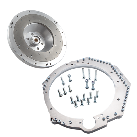 PMC Motorsport Zestaw do konwersji GM Chevrolet V8 LS LS1 LS3 LS7 - Nissan 350Z Z33 / 370Z Z34 / 250mm